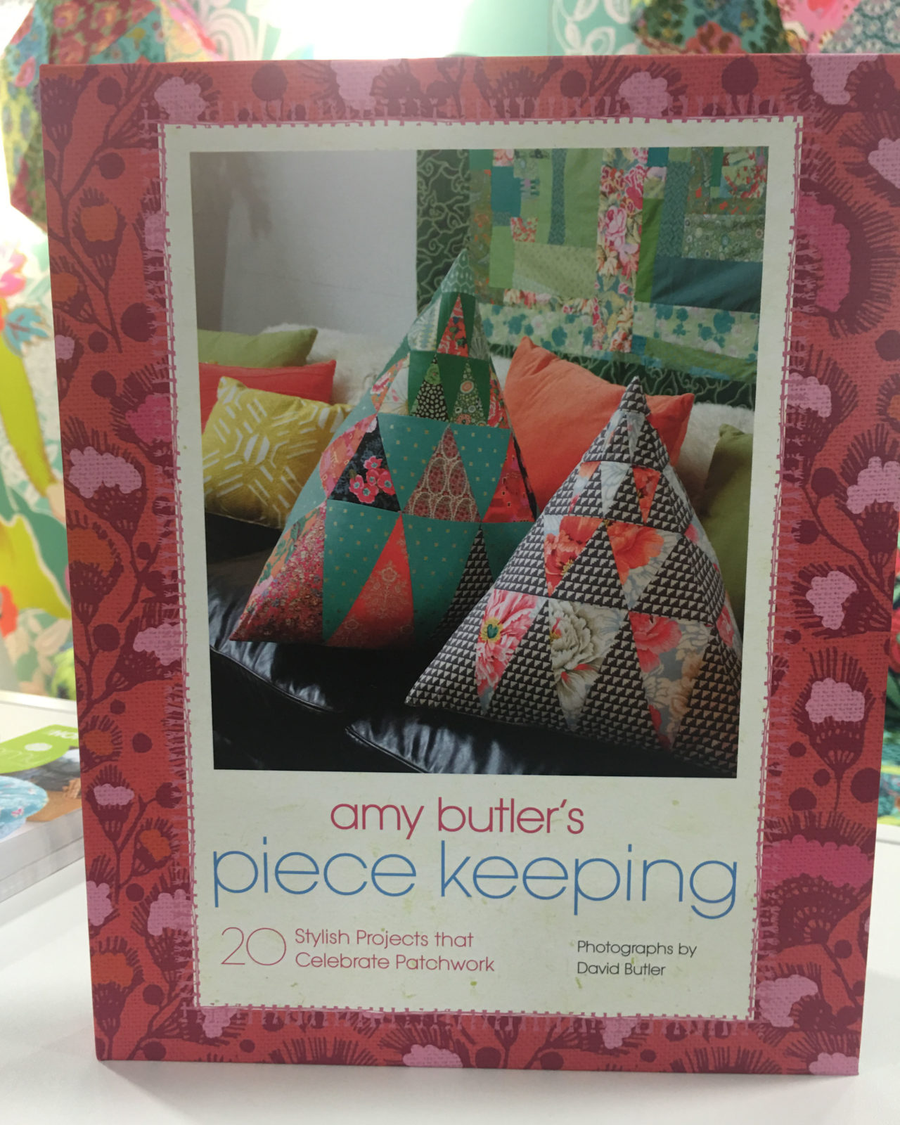 Amy Butler's Piece Keeping Book with over 20 projects of home decor and jewelry!  Plus a section on keeping your creativity!