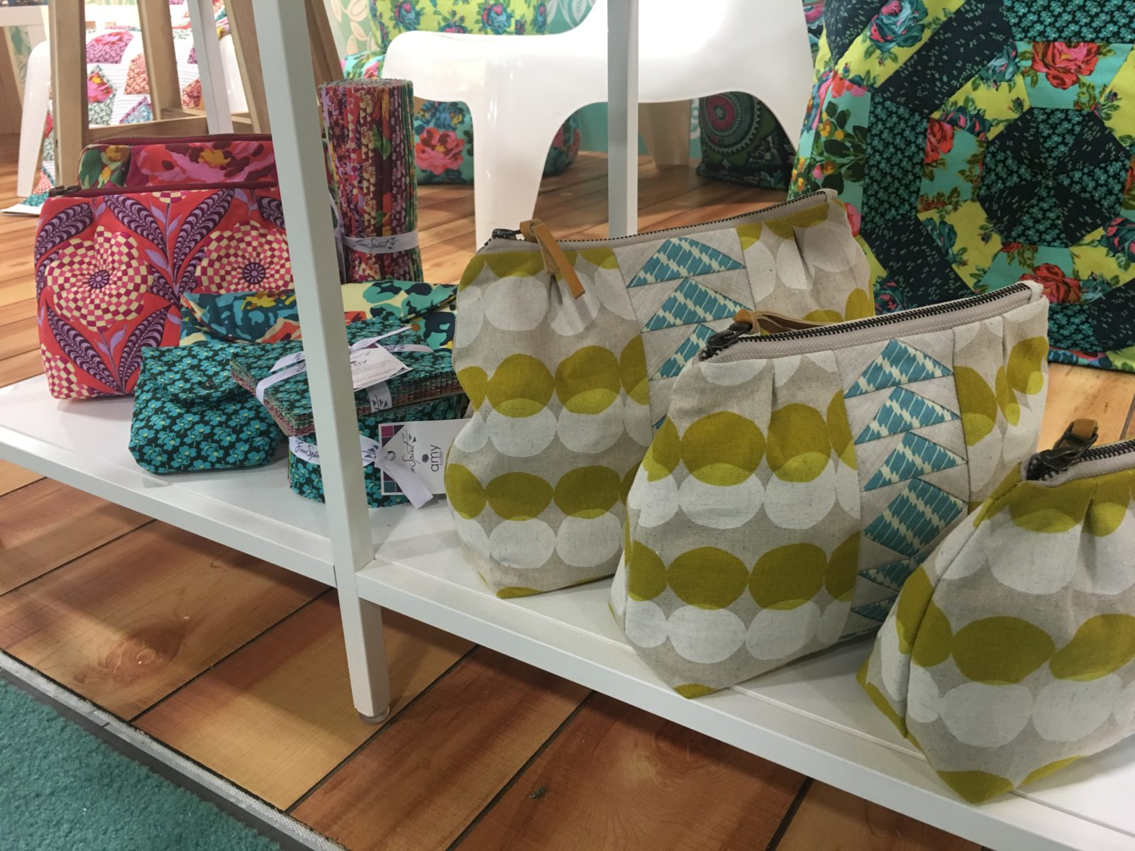 Amy Butler Totes of all sizes to make with Eternal Sunshine Fabric
