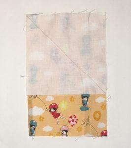 Wistful Winds Girls Fabric Fussy Cut for Half Square Triangles