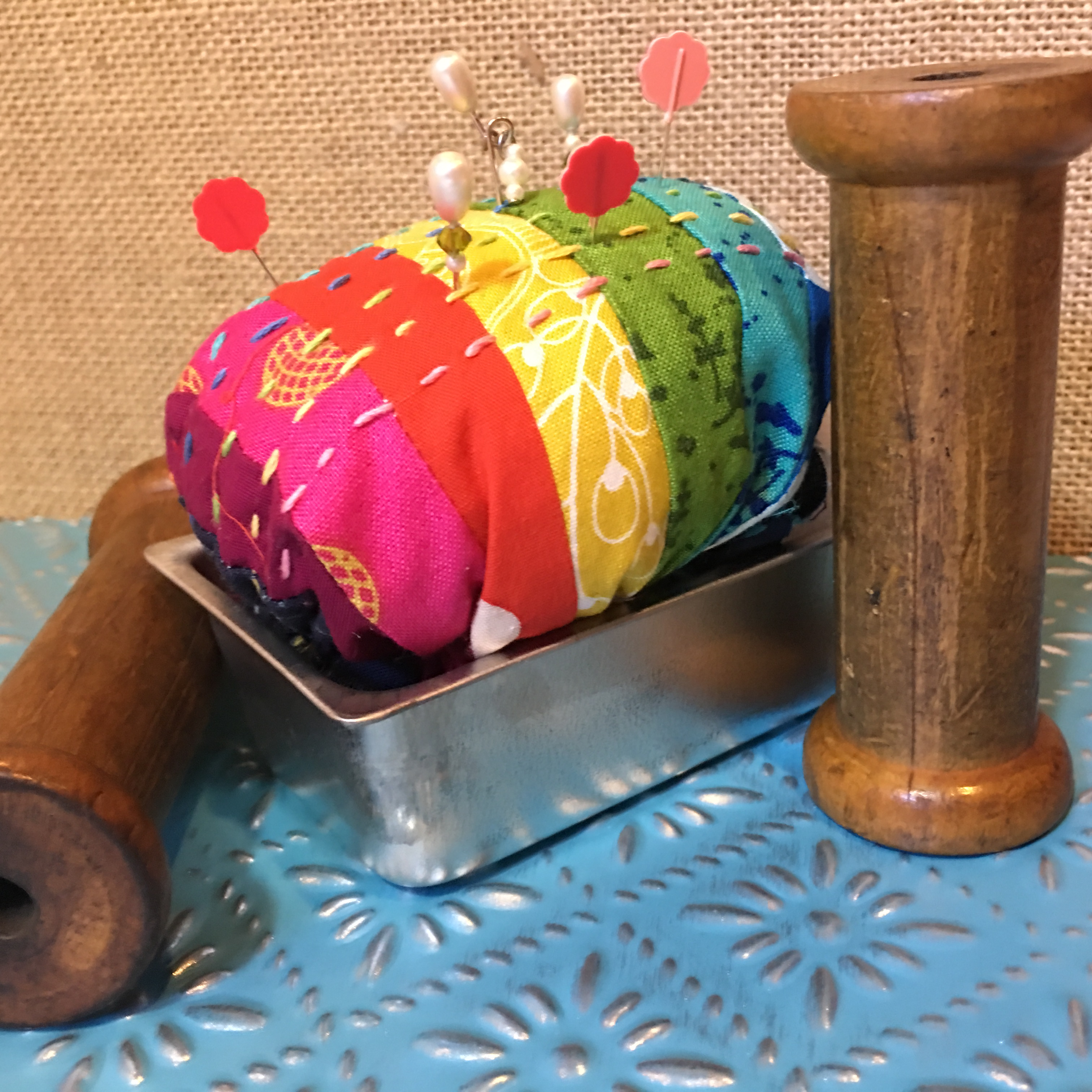 Alison Glass Slice of Bread PinCushion