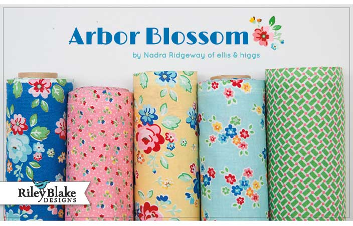 Arbor Blossom Fabric Collection by Nadra Ridgeway