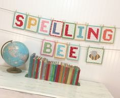 Spelling Bee Quilt Book Letters by Lori Holt