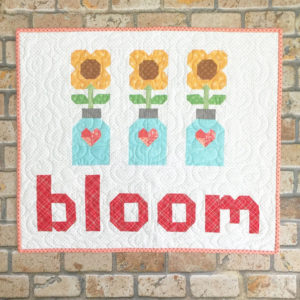 Spelling Bee Quilt Book Bloom by Lori Holt