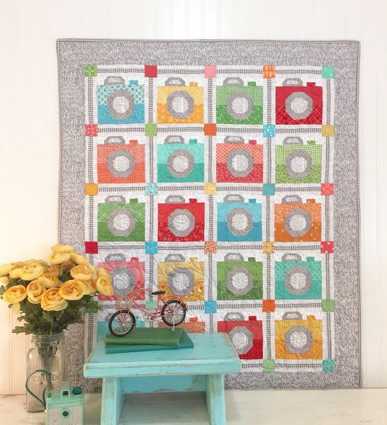 Spelling Bee Quilt Book Cameras by Lori Holt