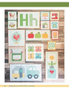 Spelling Bee Quilt Book by Lori Holt