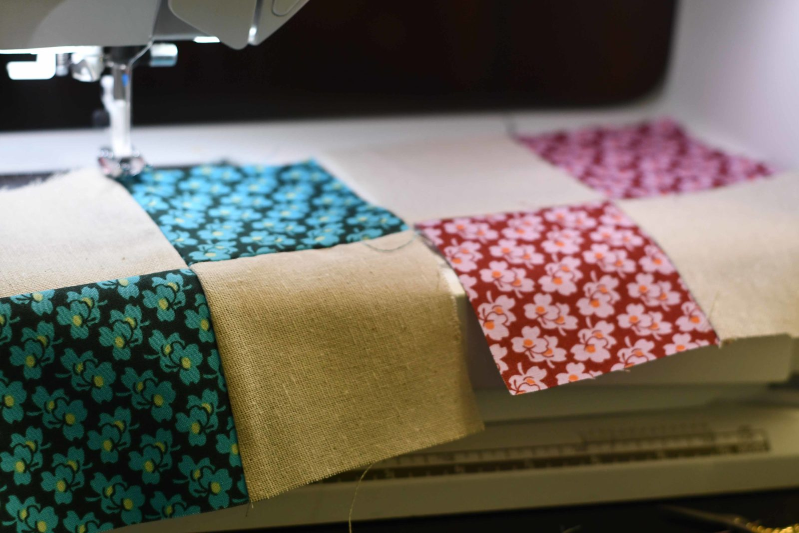 Sew Many Squares Quilt Cricut Maker 4 Square Block