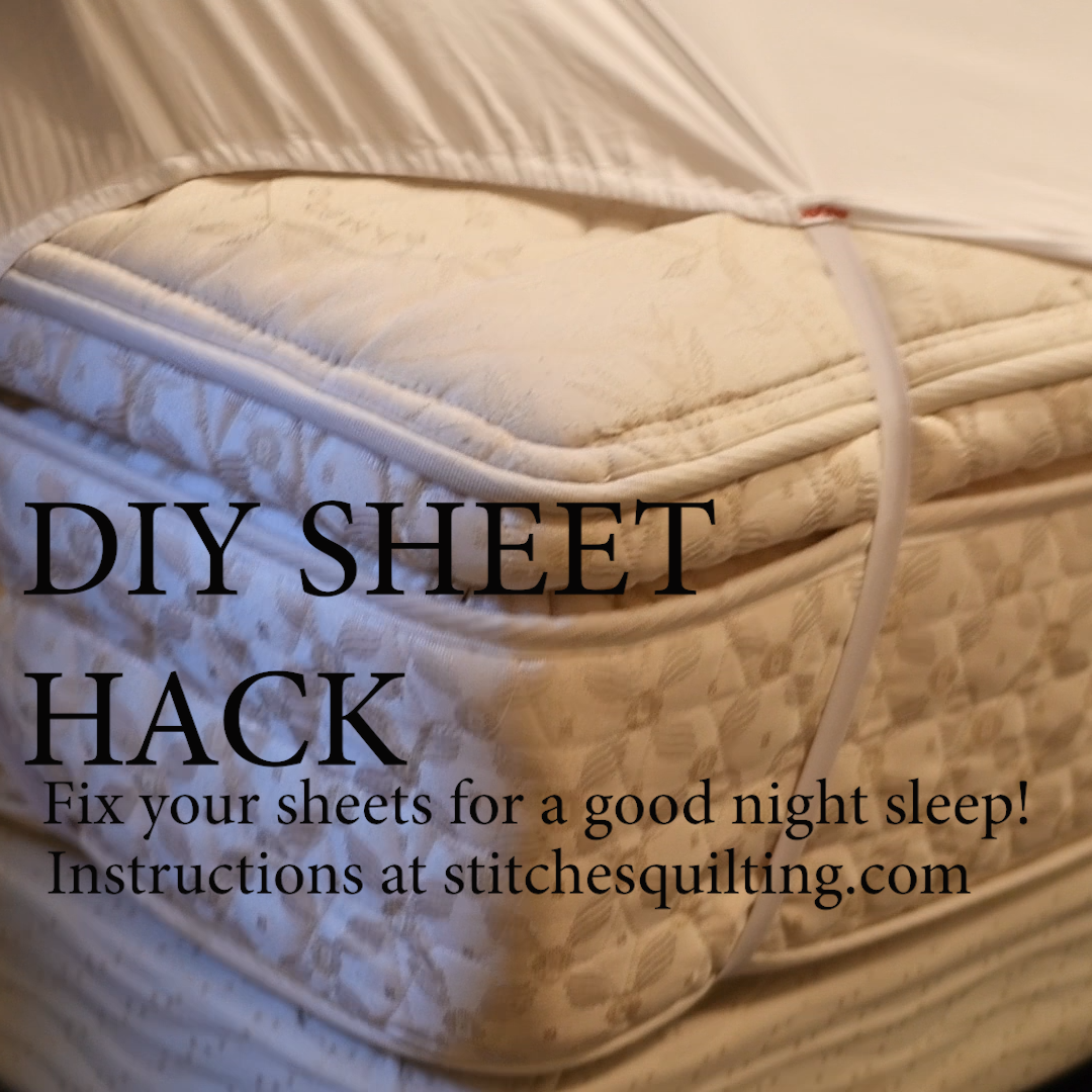 2 DIY SHEET HACK Fix your sheets for a good night sleep