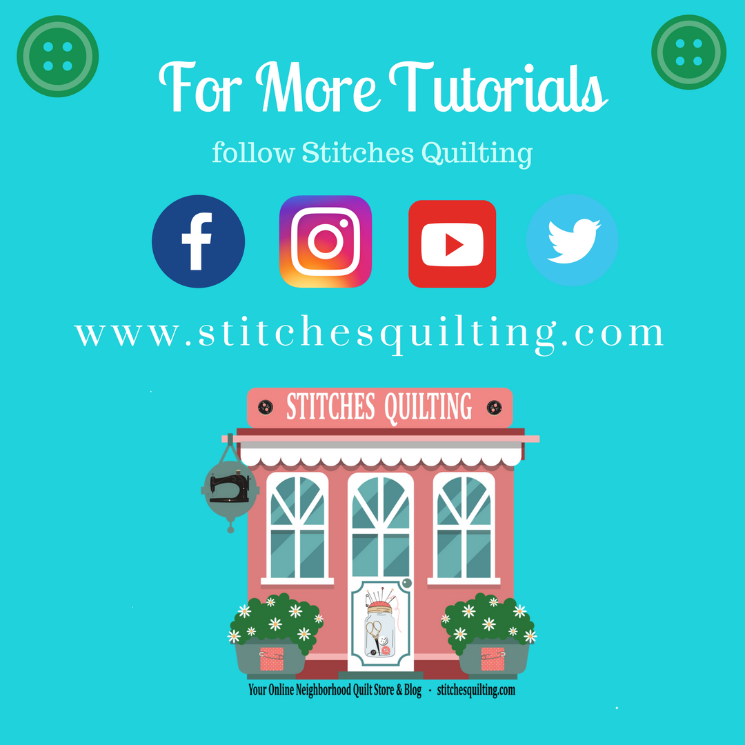 25 For More Sewing and Quilting Tutorials Follow Stitches Quilting