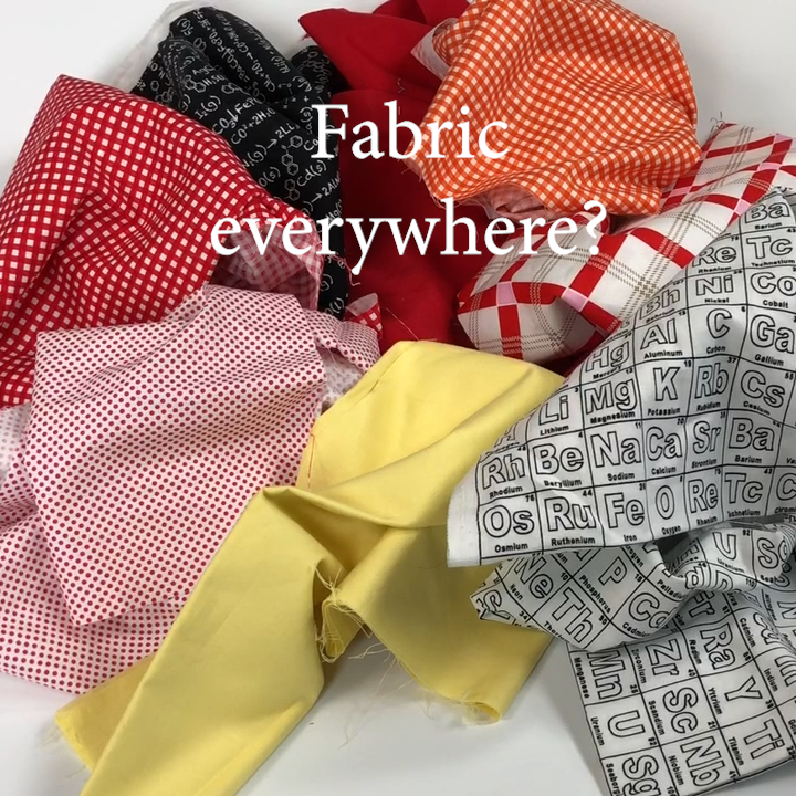 2a Quilt Hack -Fabric Everywhere