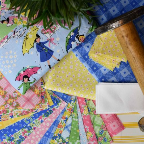 April Showers brings Mae Flowers complementary patterns, prints and colors
