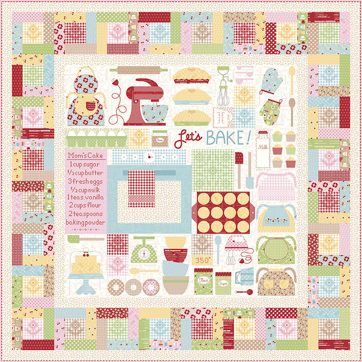 Let's Bake Quilt Lori Holt Bee In My Bonnet
