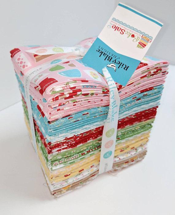 Let's Bake 2 Fabric Fat Quarter Bundle