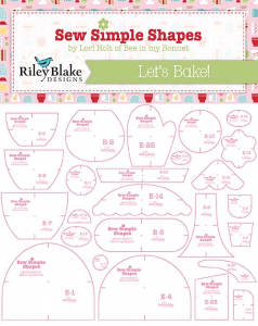 Let's Bake Sew Simple Shapes