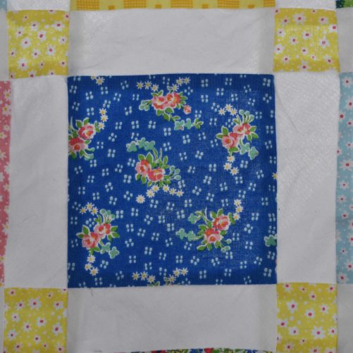 Mae Flowers Lattice Quilt It All Starts With A Square