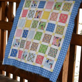 Free Pattern Mae Flowers Lattice Quilt Kit Lindsay Wilkes The Cottage Mama Penny Rose Fabrics