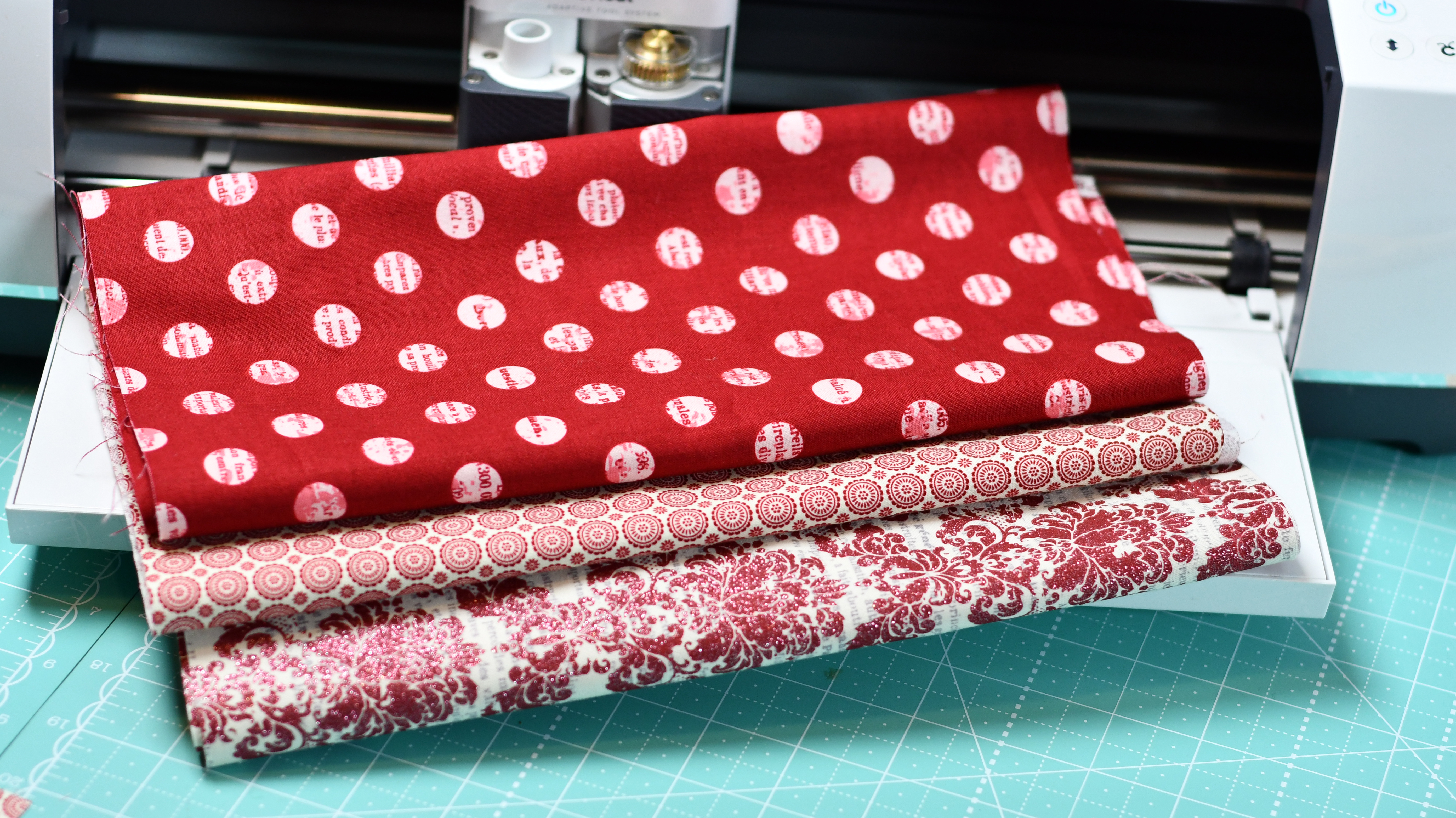 Riley Blake Bunting Fabric to cut with Cricut Maker